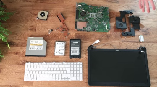 YouTuber Demonstrates How You Can Repurpose Dead Laptop Parts For Many Household Uses
