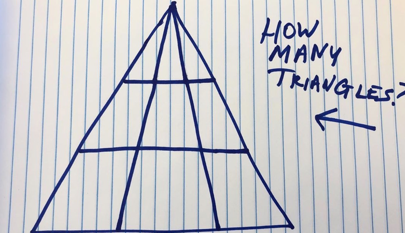 Can You Solve This Viral Triangle Brain Teaser?