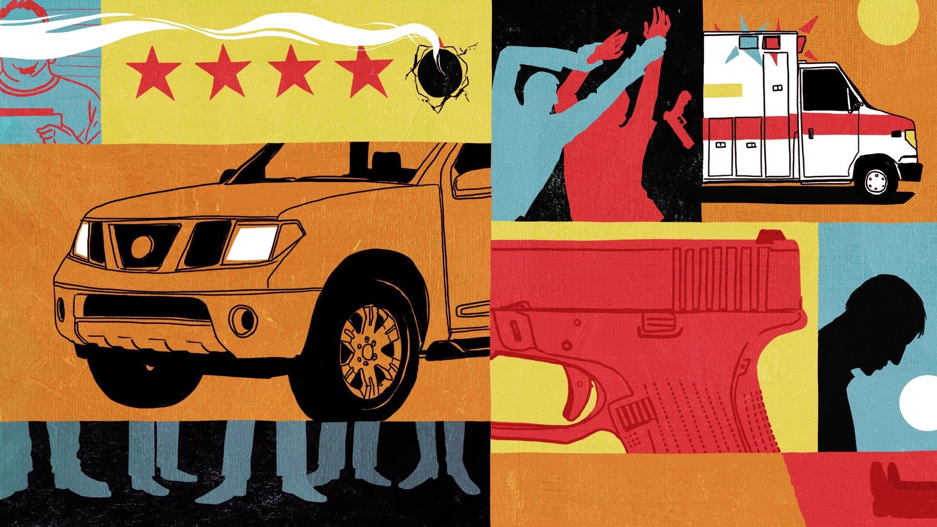 'We've Got An Uber Driver Who's Got A Gun'