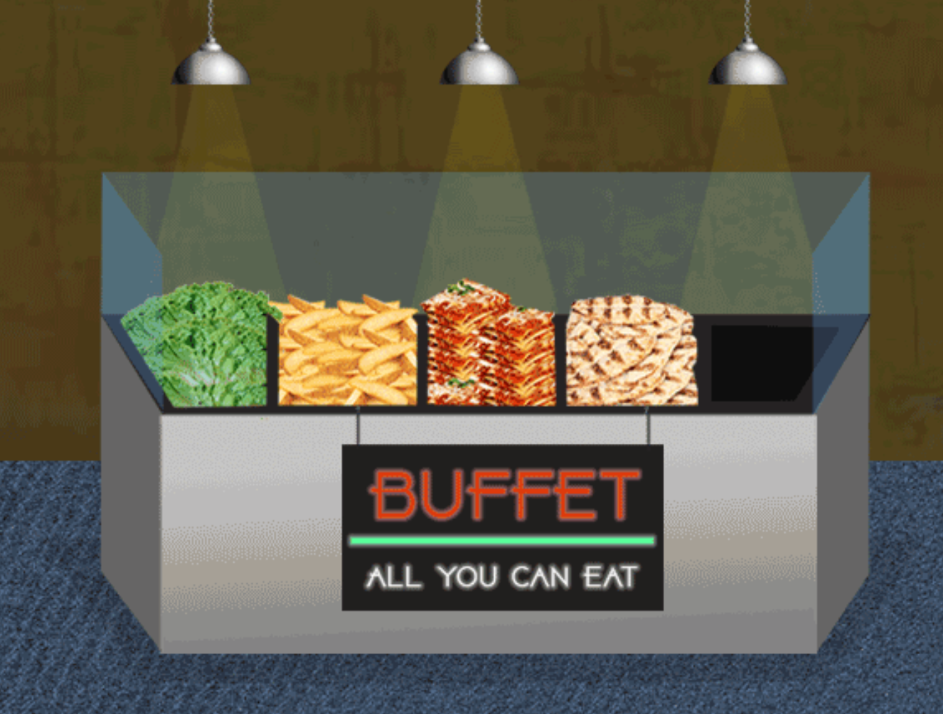 A Serious Investigation Of How To 'Out-Eat' An All-You-Can-Eat Buffet