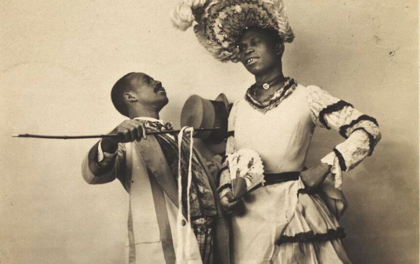 The First Drag Queen Was A Former Slave