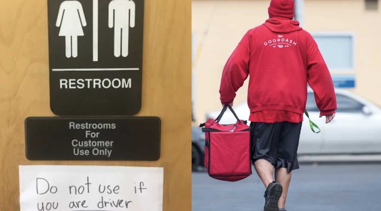 Gig Workers Have Nowhere To Pee