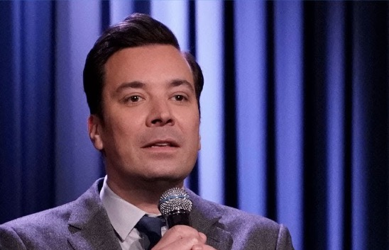 Jimmy Fallon Performs A Surprisingly Poignant Version Of 'Dinosaurs In Love'