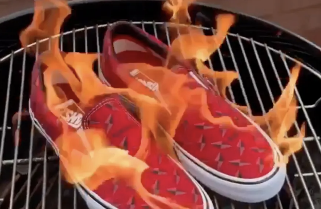 Supreme Gear Resells For Hundreds Of Dollars. So Why Are People Burning It?