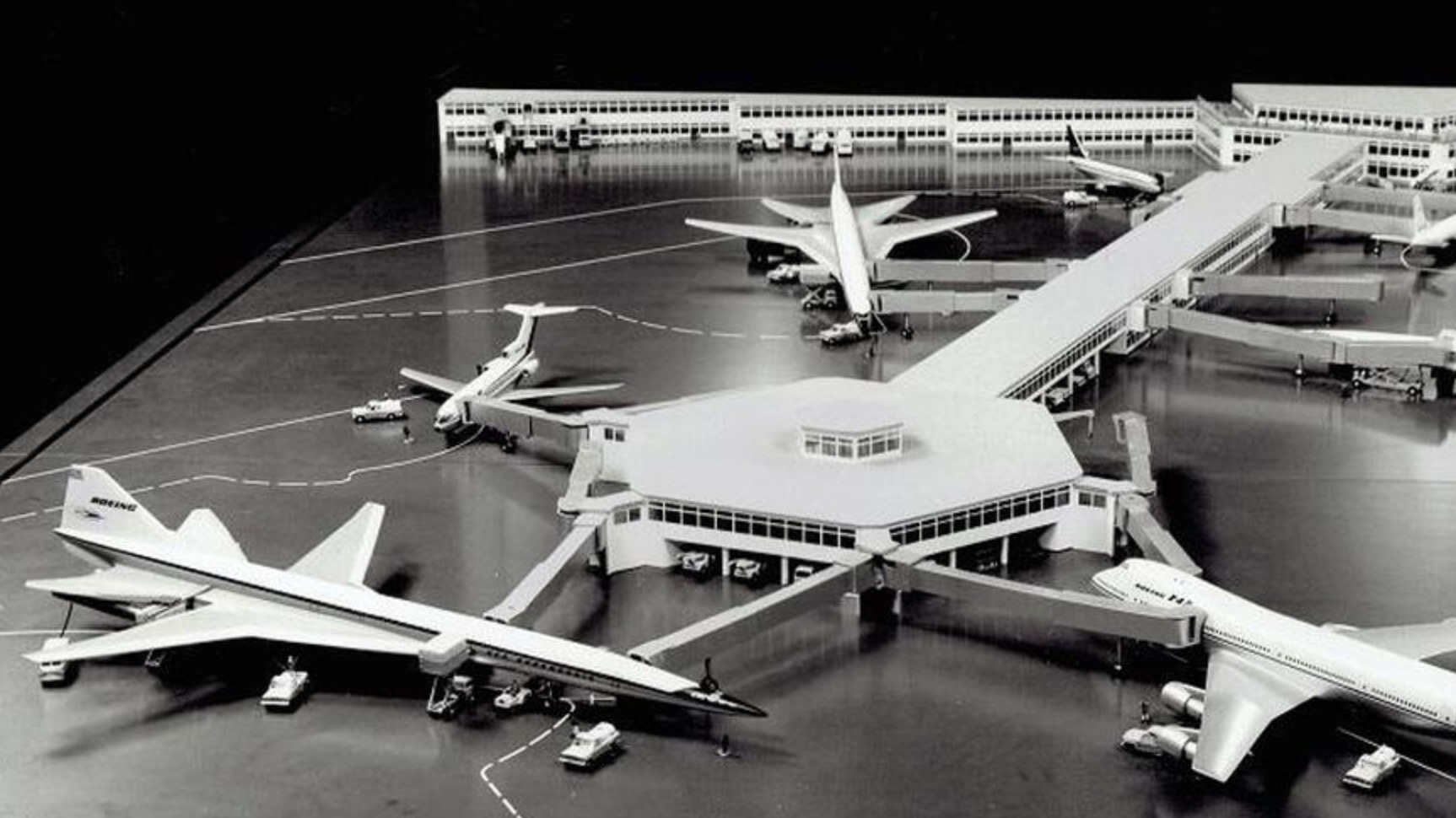 The Planned  — But Never Built — Airports For The Supersonic Age