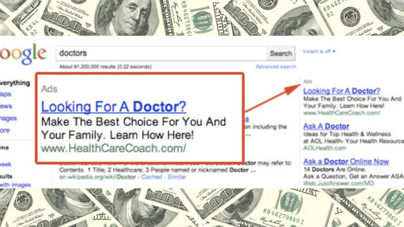 Here's How Much Money You Made Google By Staring At Its Ads For 20 Years