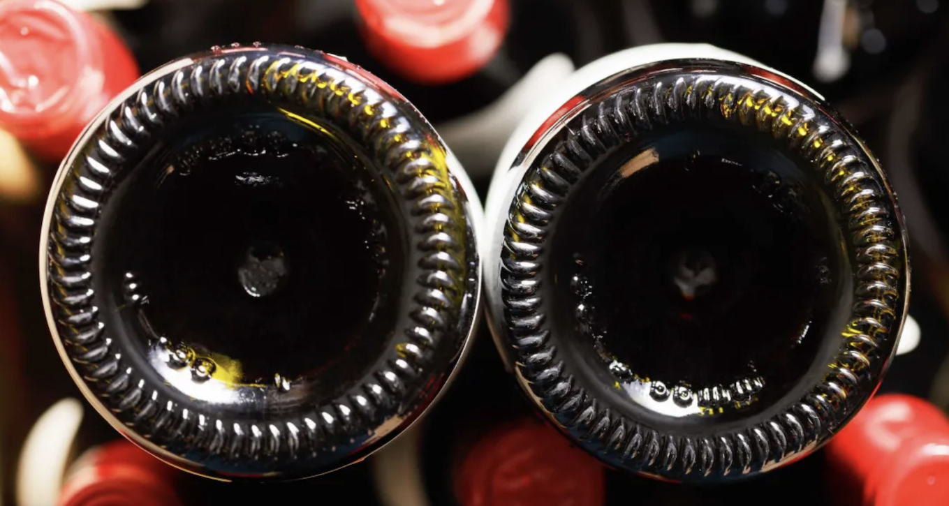 Why Wine Bottles Have Dents In The Bottom