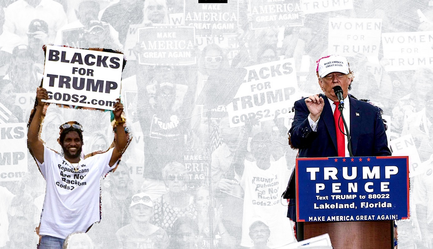 My Surreal Afternoon With Donald Trump's Favorite Black Supporter