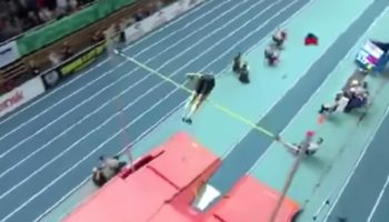 Watch Armand Duplantis Break The Pole Vault World Record With Extraordinary Leap