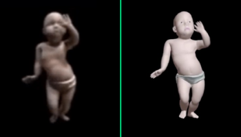 Someone Remastered The Dancing Baby GIF In HD, And It's Even More Unnerving