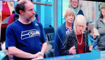 Public Testimony At Seattle City Council Committee Meeting Goes For A Slightly Weird Turn When People Start To Sing