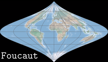 Visualizing How 10 Different Map Projections Distort The World