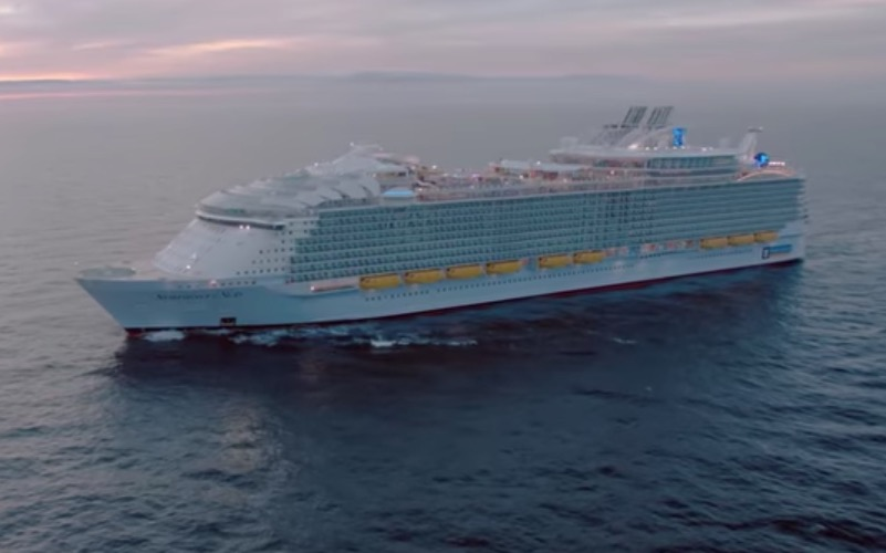 What Is It Like Riding On The World's Largest Cruise Ship?