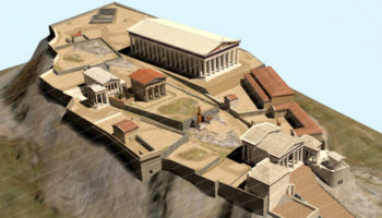 Explore Ancient Athens Online Through 3D Models, Created By One Animator Over 12 Years