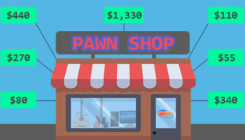 The Unpredictable Economics Of Pawn Shops