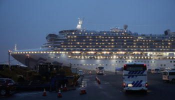 Americans Evacuate Diamond Princess Cruise Ship Amid Spread Of Infection