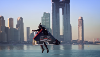 Watch This Jetpack Pilot Zoom Around Dubai At An Unreal 150 Miles Per Hour
