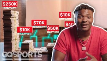 How A Quarterback In The NFL Spent His First $1 Million