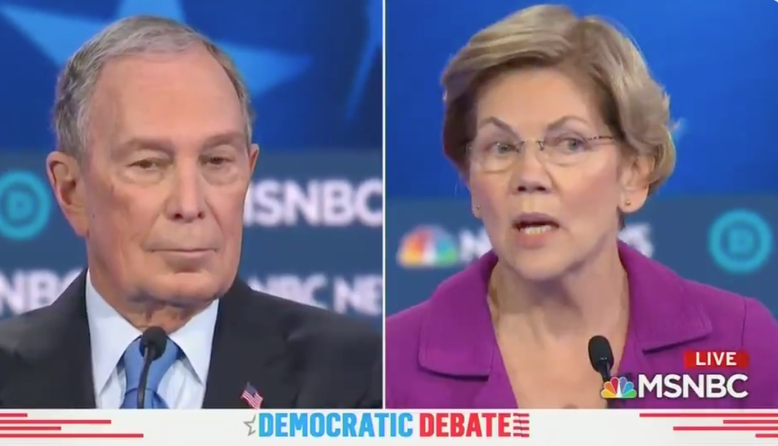 Elizabeth Warren Goes After Mike Bloomberg Over His Sexual Harassment NDAs In The Most Explosive Moment Of Wednesday's Debate - Digg