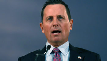 Trump Names Richard Grenell As Acting Director Of National Intelligence