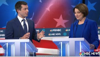The Highlights From Last Night's Democratic Primary Debate, In Four Clips