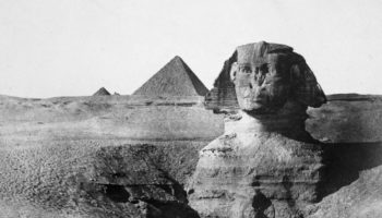 The Great Sphinx Of Giza Through The Years, In Photos
