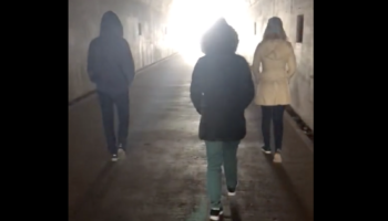 An Otherworldly Rendition Of 'Amazing Grace' Sung In An Old Military Bunker