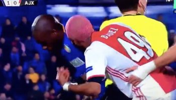 Soccer Player Throws Himself To The Ground, Mimicking Opponent He Thinks Is Faking An Injury