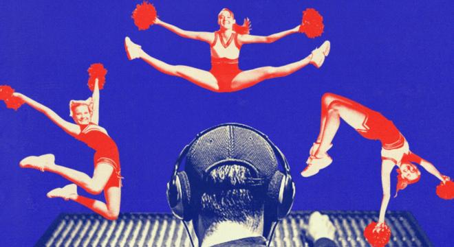 Inside The Strange, Insular World Of Cheerleading Music
