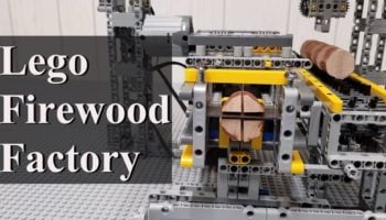 YouTuber Builds Miniature Working Lumber Mill Completely Out Of Legos