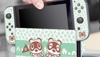 Give Your Nintendo Switch A New 'Animal Crossing' Look For Just 20 Bucks