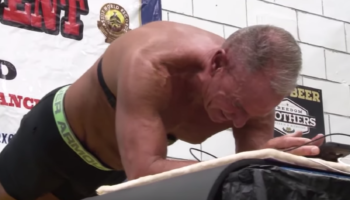 Man Breaks The World Record For Longest Plank Ever