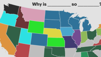 How Google Autocomplete Describes Every State In America