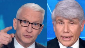 Anderson Cooper Calls 'Bullsh*t' On Rod Blagojevich In Heated Interview