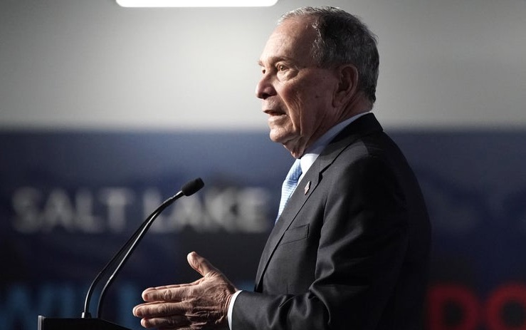 Experts Have Never Seen A Political Ad Blitz Like Bloomberg's