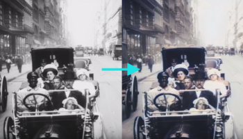 This 1911 Footage Of New York City Went Viral In 2018. Now It's Been Colorized And Upscaled To 4K 60 FPS With Neural Networks