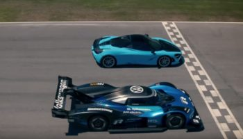 Watch Volkswagen's Electric Racecar Obliterate A McLaren 720s In Acceleration Race