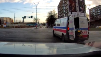 When An Ambulance Doesn't Close Its Doors, Things Get Awkward