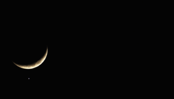 How To See Venus And The Moon Share A 'Kiss' In A Rare Astronomical Event This Week