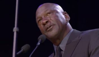 Watch Michael Jordan's Heartfelt, Tearful Tribute To 'Little Brother' Kobe Bryant At Memorial