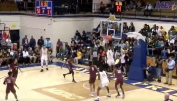 This 360-Spin Alley Oop Might Be College Basketball's Dunk Of The Season