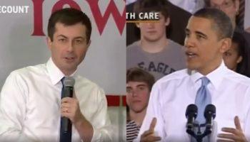 A Supercut Showing How Pete Buttigieg Is Copying Barack Obama's Speech Patterns