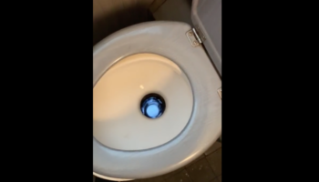 This Train Toilet Really Cut Corners When It Came To Plumbing