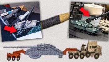 Photos Surface Of The Army's Crazy 1,000-Mile Range Supergun Concept