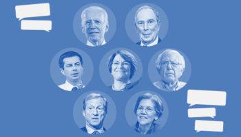 Live Updates From Tonight's Democratic Primary Debate