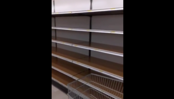 Grocery Store In Milan Emptied To Eerie, Unsettling State After Coronavirus Outbreak