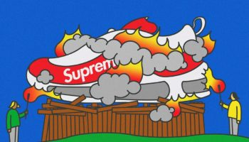 Why Supreme Is Happy to See Customers Burning Their Merch