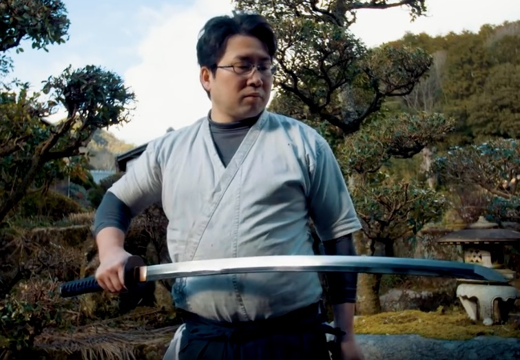 Meet Japan's Master Samurai Sword Maker