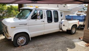 Ford E-350 Centurion Van-Truck For Sale Might Be The Most Peculiar Pickup Out There