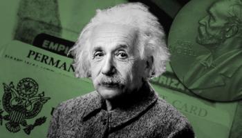 Melania Trump Got An 'Einstein Visa.' Why Was It So Hard For This Nobel Prize Winner?